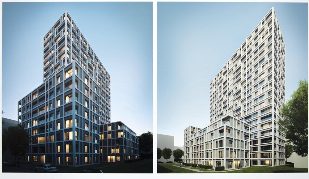 Europaviertel west quartier boulevard mitte seite 21 deutsches architektur forum - Bekannte architekten ...