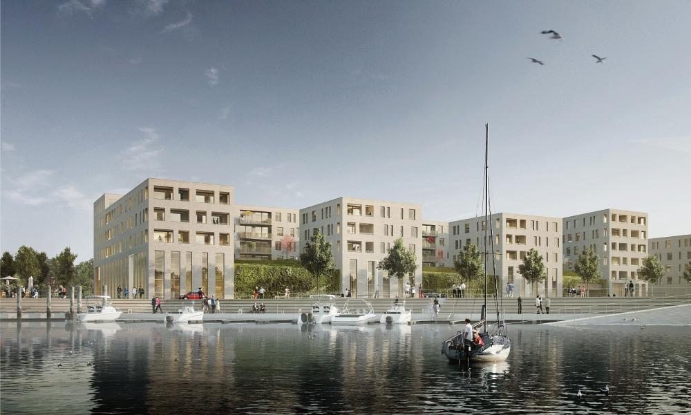 Mainz: Zollhafen - neues Stadtquartier in Bau [Archiv] - Deutsches ...