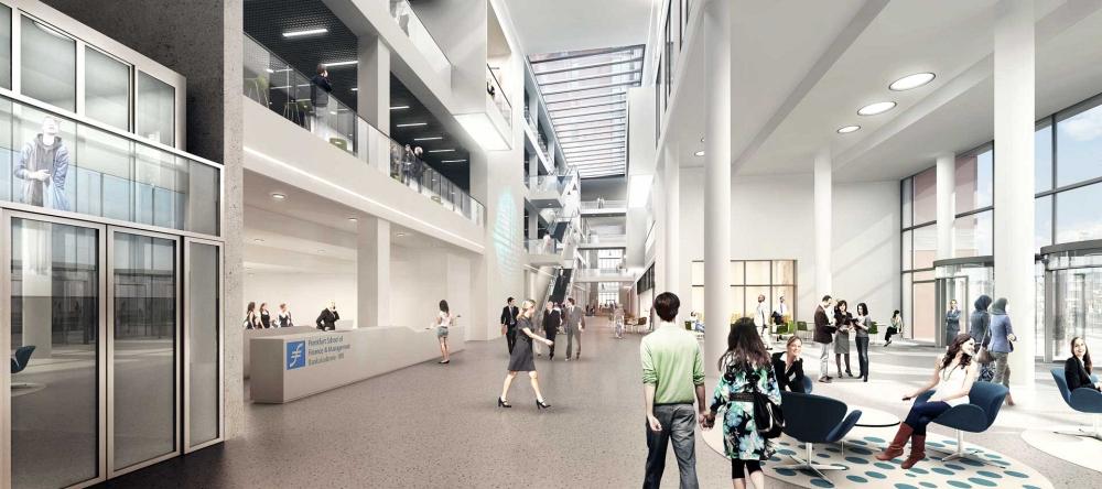 adickesallee campus frankfurt school und wohnquartier in. Black Bedroom Furniture Sets. Home Design Ideas