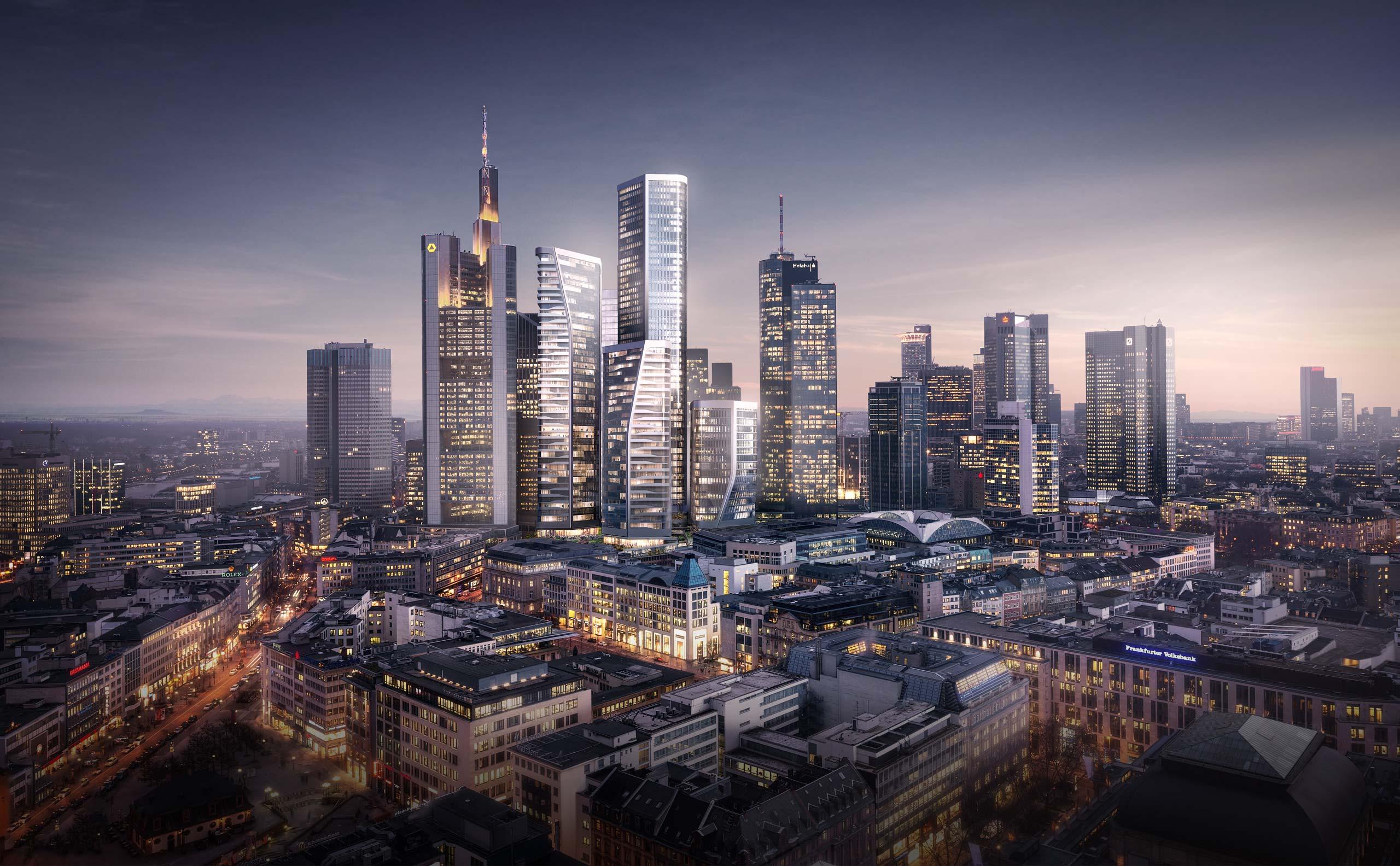 Four frankfurt i die planung 228 178 120 100 m seite 16 deutsches architektur forum - Deutsche architektur ...