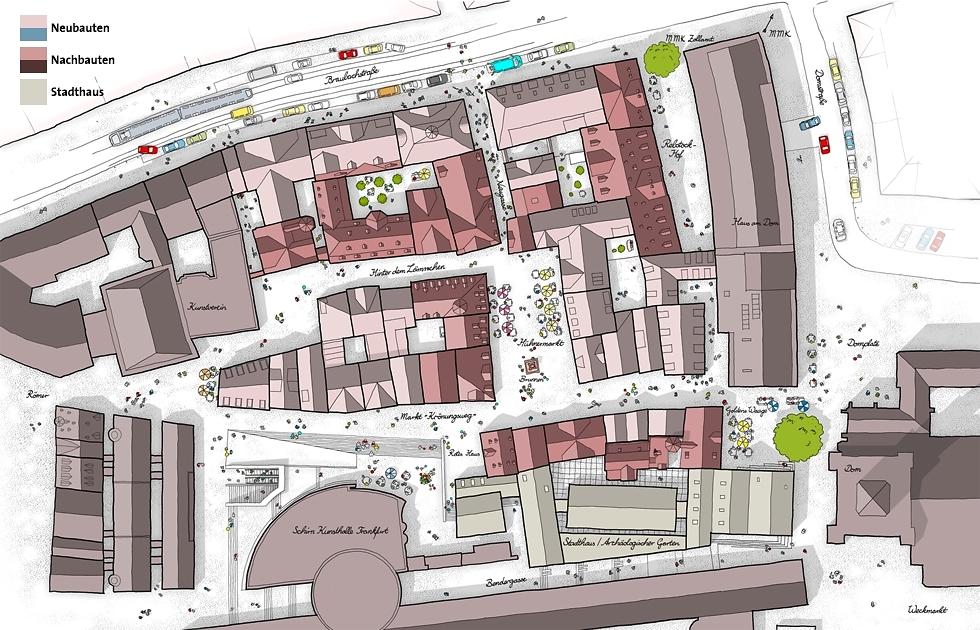 dom r mer areal planung neubebauung seite 29 deutsches architektur forum. Black Bedroom Furniture Sets. Home Design Ideas