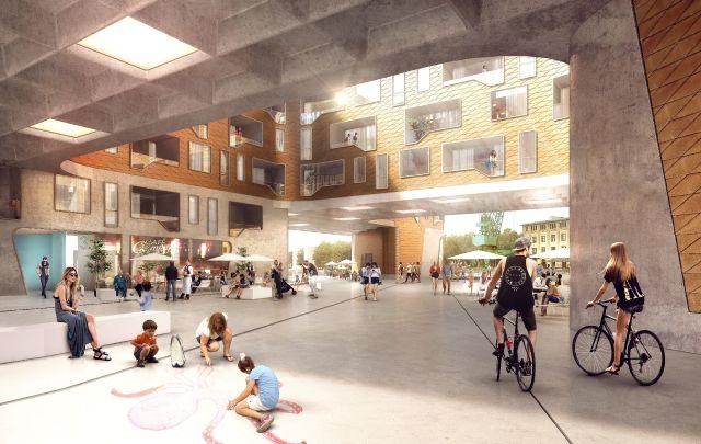 mainz zollhafen neues stadtquartier in bau seite 6. Black Bedroom Furniture Sets. Home Design Ideas
