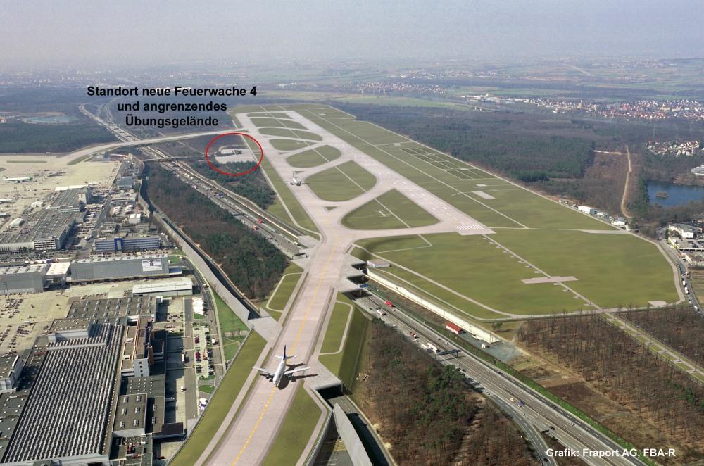 Flughafenausbau mit neubau terminal 3 bauphase seite for Neue architektur stuttgart