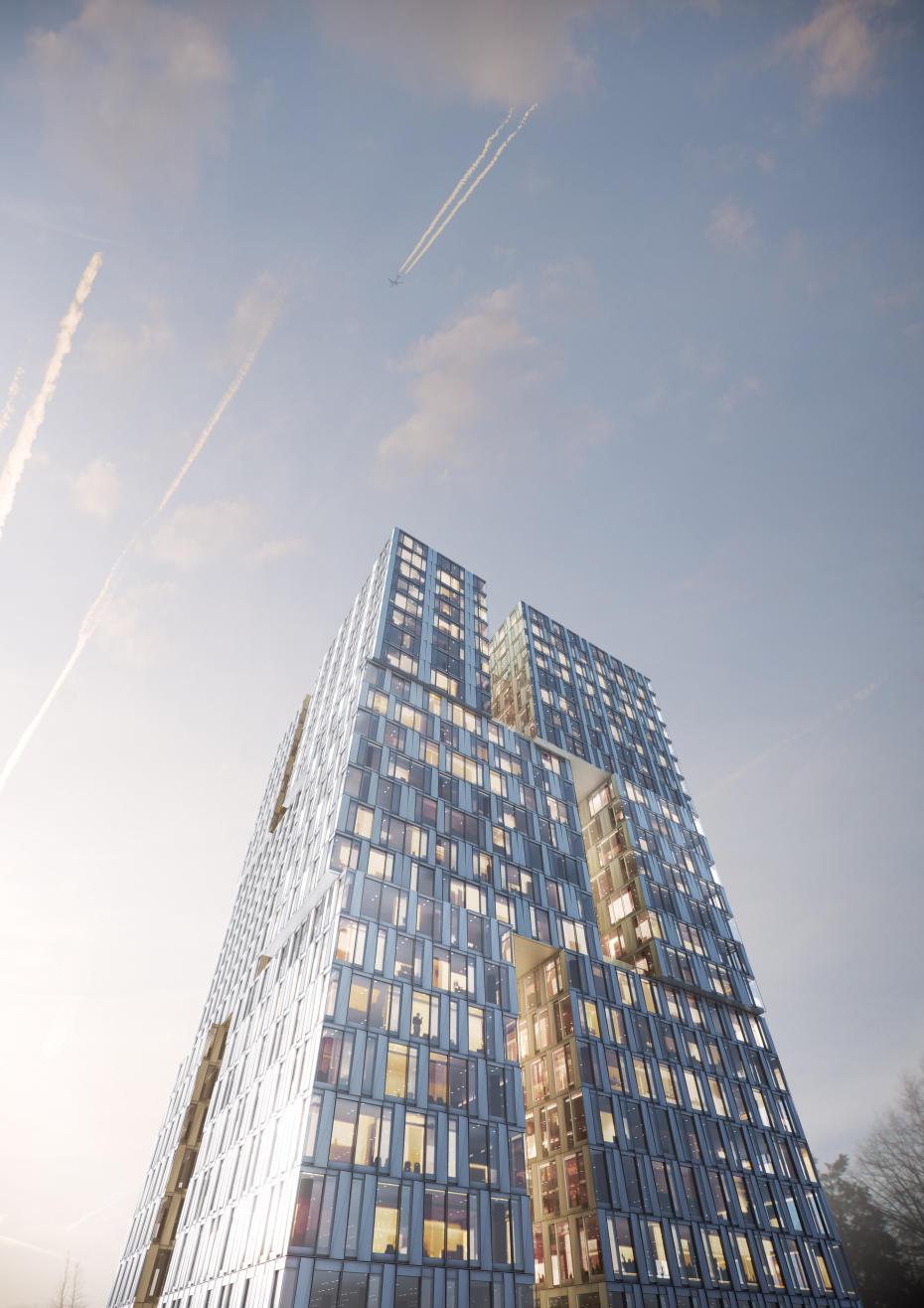 Deutsches architektur forum einzelnen beitrag anzeigen gateway gardens neues stadtviertel - Deutsche architektur ...
