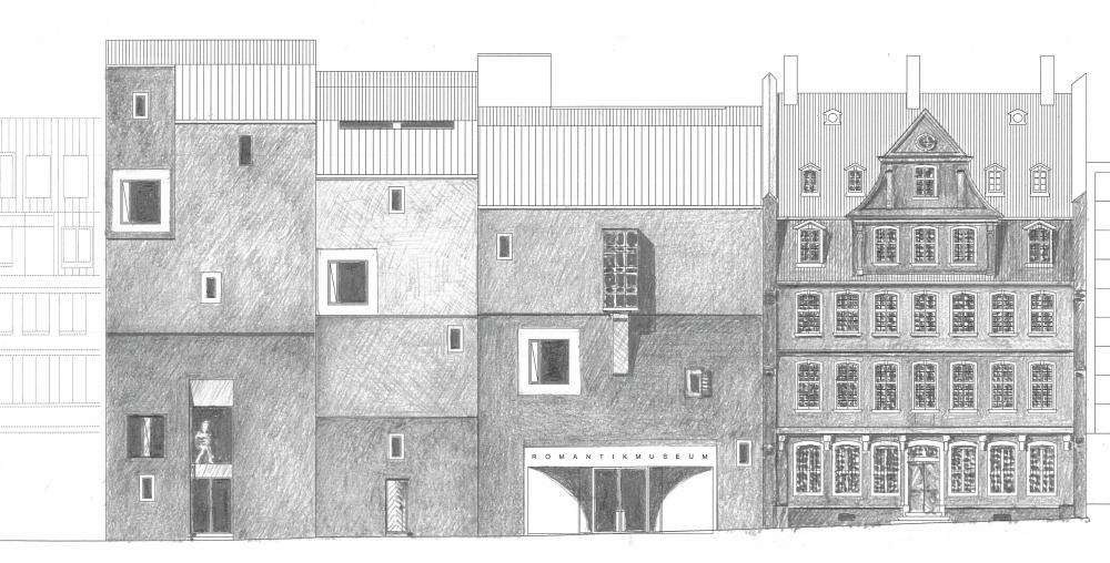 Goetheh fe und deutsches romantik museum in bau seite for Architektur romantik