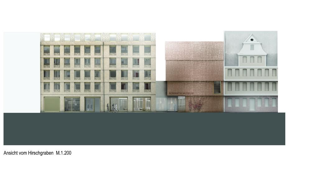 Architekturbüros Frankfurt goethehöfe und deutsches romantik museum in bau seite 2