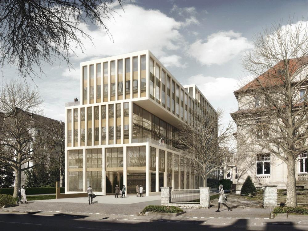 kfw bankengruppe bauprojekte im westend seite 19 deutsches architektur forum. Black Bedroom Furniture Sets. Home Design Ideas
