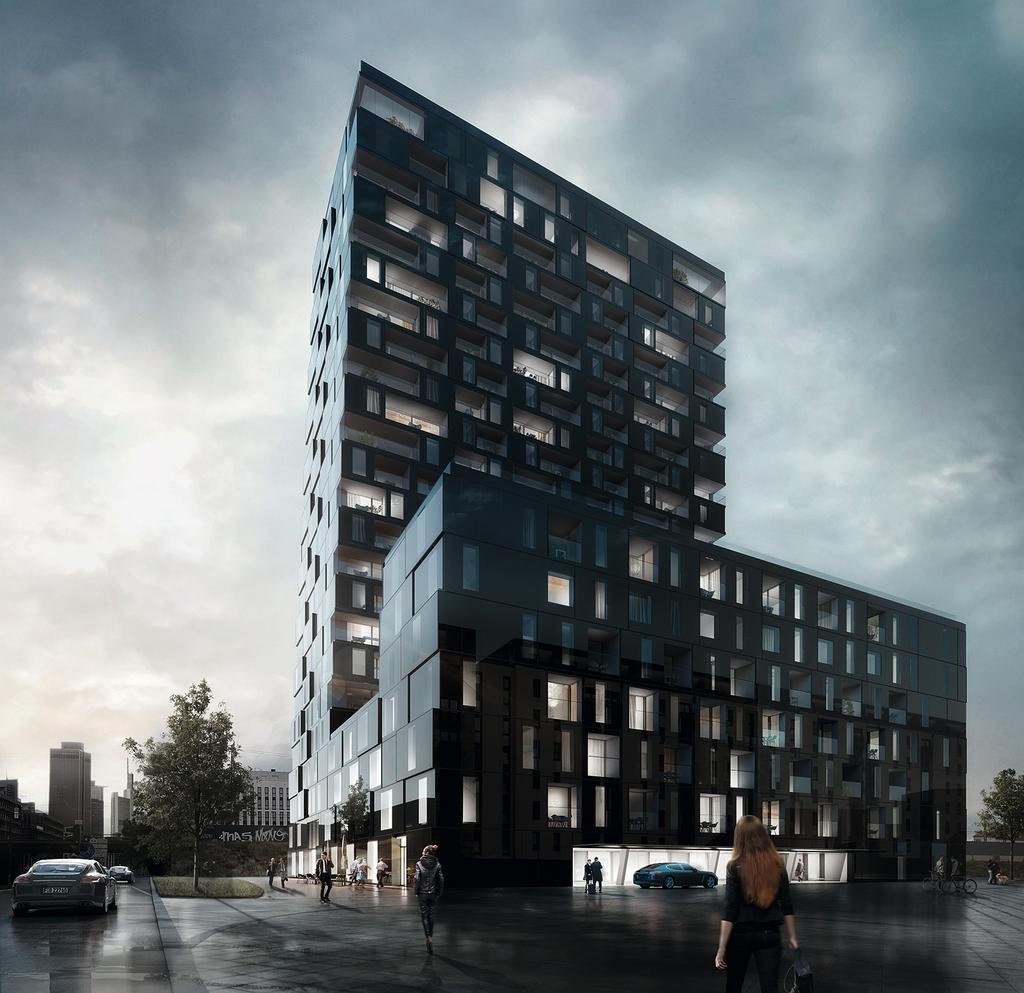 Design Frankfurt | Wohnhochhaus Porsche Design Tower Frankfurt Geplant Seite 10
