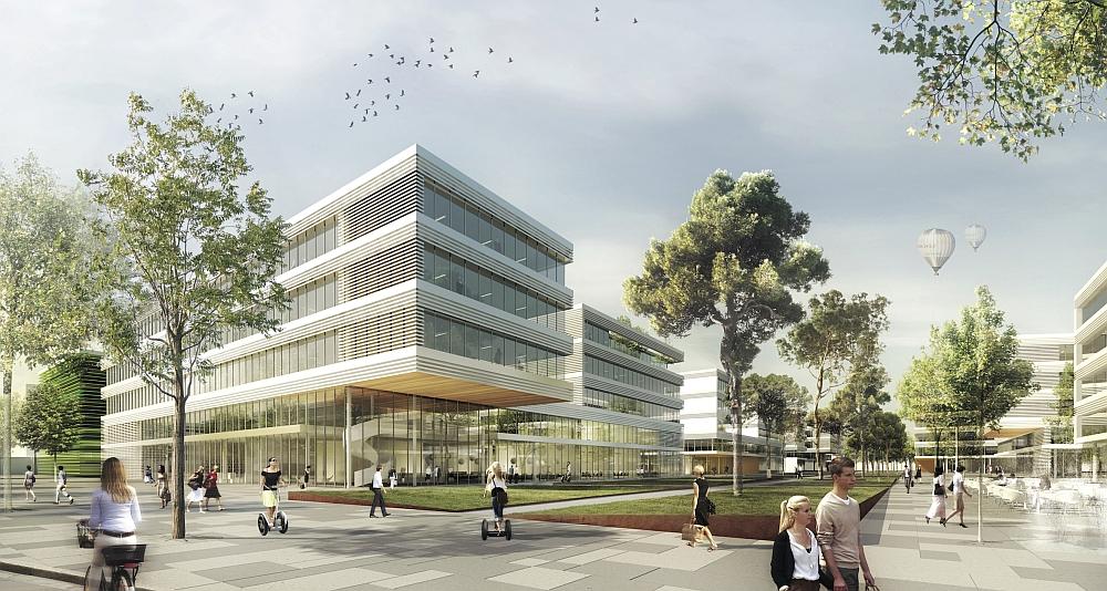 Architekten Erlangen erlangen neubau siemens cus geplant deutsches architektur forum