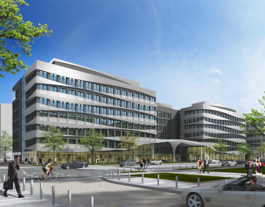 Msm Architekten europaviertel quartier boulevard mitte seite 17 deutsches