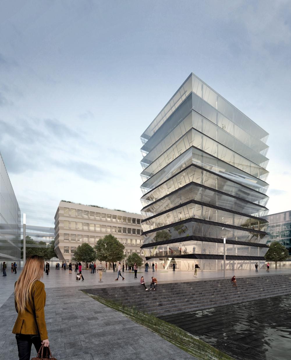 mainz zollhafen neues stadtquartier in bau seite 4 deutsches architektur forum. Black Bedroom Furniture Sets. Home Design Ideas